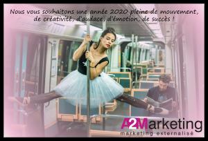 Bonne année 2020 A2Marketing