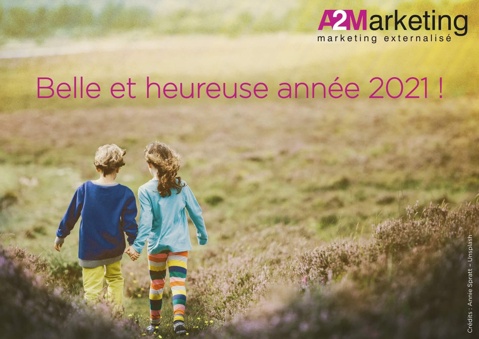 L'équipe A2Marketing vous souhaite une bonne année 2021